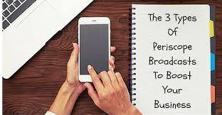 three types of periscope broadcasts to boost your business that are a great way to engage your audience build authority and grow your following periscope is also an amazing platform to boost business