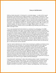 motivation essay example new hope stream wood 10 motivation essay example