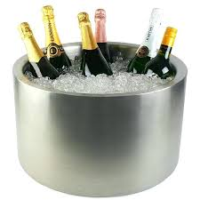 ice bucket cooler large wine cooler outsunny rattan ice bucket cooler table beer outdoor