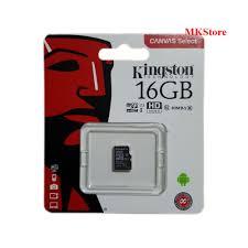 Thẻ nhớ Micro SDHC Kingston 32GB / 16Gb tốc độ 100Mb/s bảo hành 5 năm FPT
