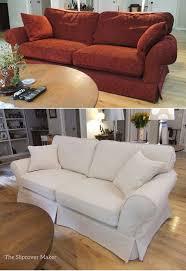Paisley Sofa furniture 17 stylish off white slipcovered sofa small living 2921 by uwakikaiketsu.us