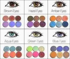 i have hazel eyes and i love to wear shades of purples because my eyes just pop