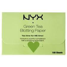 Матирующие <b>салфетки</b> для лица <b>NYX</b> Green Tea Blotting Paper ...