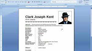 Resume Format On Microsoft Word 2007 Create A Resume In Ms Word 24 Youtube Resume Templates Microsoft 13