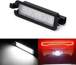 2013 Dodge Charger License Plate Light Ijdmtoy Oem Fit 3w Full Led License Plate Light Kit Compatible With 2015 Up Dodge Charger Challenger Chrysler 300 Pacifica 2017 Up Jeep Compass