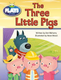 pearson 9781488612879 9781488612879 bug club early fiction play yellow the three little pigs reading level 6 8 f p level d e