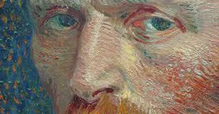 vincent van gogh detail of self portrait 1887 photo by kevin