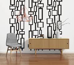 mid century modern wall art