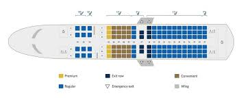 Southwest Airlines Boeing 737 700 Seating Chart Copa Airlines Fleet Boeing 737 700 Details And Pictures