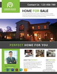 Free Home Sale Real Estate Flyer Template Word Psd