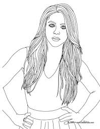 Small Picture Beautiful shakira coloring pages Hellokidscom