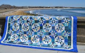 Seaside Stitches: Ninigret Raffle Quilt & ... quilt down to the beach in Narragansett for a photo shoot. It was a  beautiful day (until the clouds rolled in). This was the first shot we took  and the ... Adamdwight.com