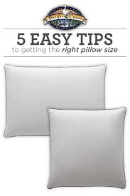 regular pillow size. Contemporary Regular 5 Easy Tips To Getting The Right Pillow Size And Regular