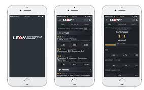 Леон бк приложение на айфон