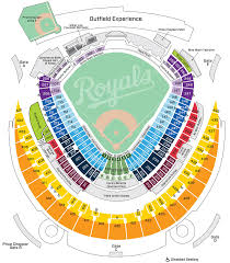 Royals Seating Chart 2012 Kauffman Stadium Kansas City Royals Ballpark Ballparks Of