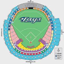 Rogers Skydome Seating Chart Hospitality Toronto Blue Jays Core Media Inc