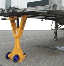 Safety trailer jack stand jacks stands
