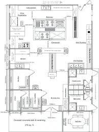 Restaurant Layout Design Restaurant Room Plan Idea With Kitchen