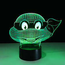 Tmnt 3d Light Home Furniture Diy Tmnt Teenage Mutant Ninja Turtles 3d