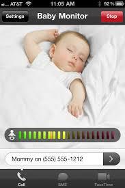 Baby Monitor for iPhone by CodeGoo