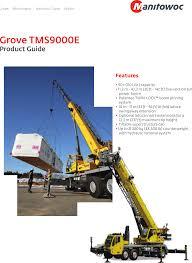 Grove Gmk 6200 Load Chart Manitowoc 0