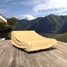 outdoor double chaise lounge cover