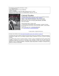 Pdf Indie The Institutional Politics And Aesthetics Of A