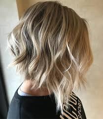 Blonde Bob Waves