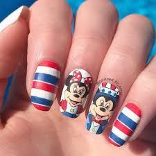 Best 50 Mickey And Minnie Mouse Nail Designs 20172018