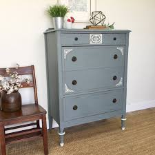 distressed antique furniture. Tall Chest Of Drawers - Distressed Furniture Antique