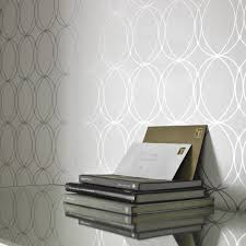 darcy white wallpaper circle wall coverings by graham brown