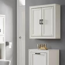 crosley furniture tara wall cabinet