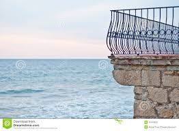 Balcony Fence balcony fence in front of the sea in sitges spain stock photos 7101 by xevi.us
