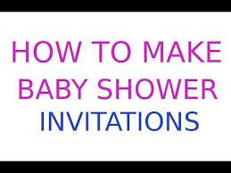 Create Your Invitation Create A Baby Shower Invitation Granizmondal Com