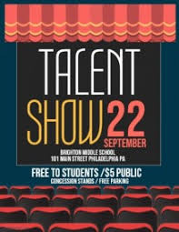 Talent Show Poster Designs 1 080 Customizable Design Templates For Talent Show Postermywall