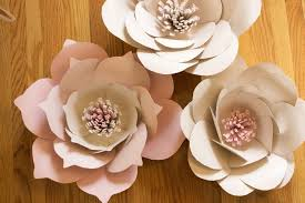 Flower Templates For Paper Flowers Giant Paper Flowers Free Template Paper Flowers Diy Free