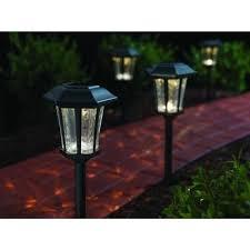 Hampton Bay Pathway Lights Impressive Hampton Bay Solar Roman Bronze Outdoor Integrated LED Landscape Path