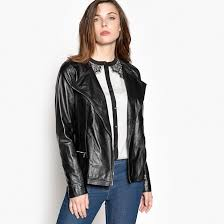 anne weyburn women soft leather biker jacket fabric content and care advice 100 leather