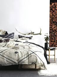 kilim pattern duvet cover set simons rustic rusticelegance bohemian room black patterned duvet covers blue patterned