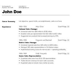 Proper Format For Resume The Best Resume Format Resume Templates ...