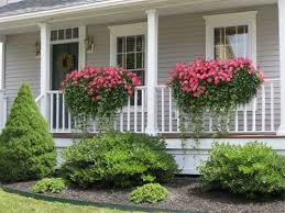 ... Porch Flower Boxes Flower Pots Home Depot Balcony Garden Hanging Tree  Grass: marvellous ...