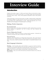 Preparation For Accounts Interview Interview Guide Introduction