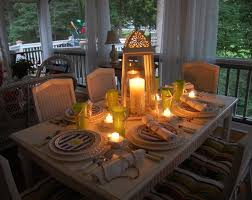 coastal dining room centerpieces round table set centerpiece romantic candles glass candle tall crystal vase dining table home improvement and interior