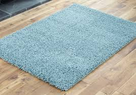 new 120x170cm large modern duck egg blue 5cm gy rugs thick soft pile rug