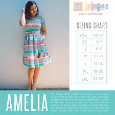 Lola Sizing Chart Lularoe Lularoe Amelia Dress Sizing Chart Fashion Lularoe Size