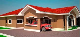 bedroom house plans in ghana