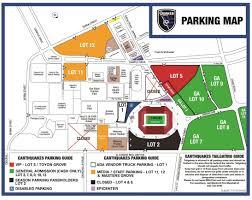 Stanford Stadium Seating Chart Stanford Stadium Parking Map San Jose Earthquakes