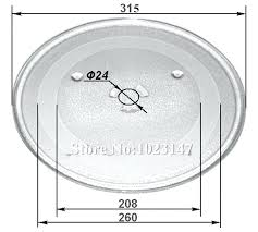 samsung microwave glass plate replacement 1 piece microwave oven parts diameter flat glass plate for