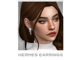 Hermes Earrings - The Sims 4 Download - SimsDomination