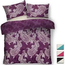 indian paisley fl bedding set